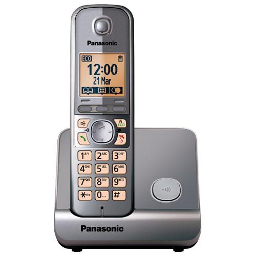 【TG6711】Panasonic 國際牌數位DECT 無線話機 KX-TG6711 TW / 鐵灰色