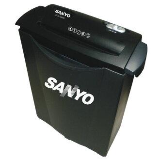 【SCU-6688】《彩盒不良》 三洋 SANYO 5張直條式碎紙機SCU-6688