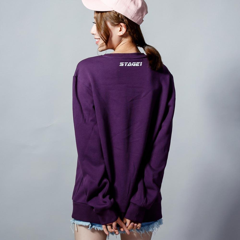 STAGEONE THUNDER SWEATER 黑色 / 深紫色 兩色 1