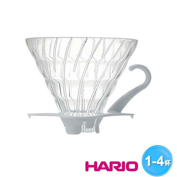 HARIO V60玻璃濾杯(白色)1~4杯VDG-02W - 限時優惠好康折扣