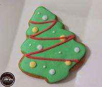 分享幸福的婚禮小物推薦喜糖_餅乾_伴手禮_糕點推薦【裸餅乾Naked Cookies】聖誕樹(3)6入-創意手工糖霜餅乾,婚禮小物/生日/活動/收涎/彌月
