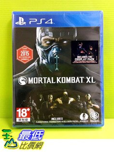 (刷卡價)   PS4 真人快打 XL  Mortal Kombat XL 英文版