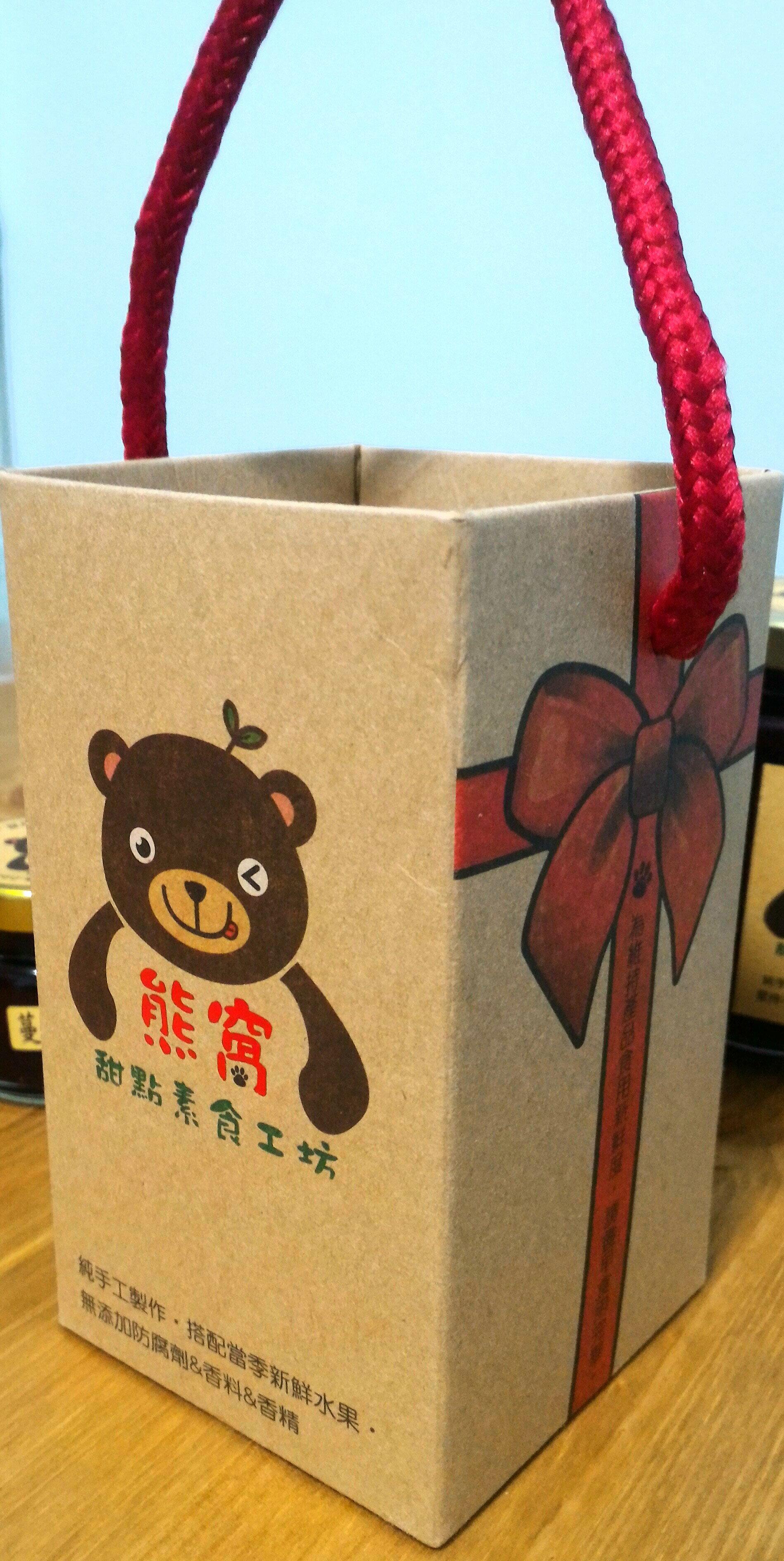 熊窩手作工坊-堅持純手工製作~100%原汁原味~蔓越莓鮮水果醬~特價180元 4