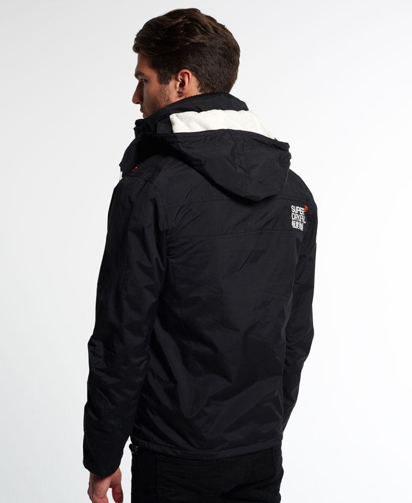 [男款] 英國代購 極度乾燥 Superdry Arctic 男士風衣戶外休閒 外套夾克 防水 防風 保暖 黑色/白色 2