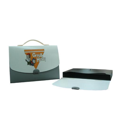 特價26折1個45元 HFPWP手提包 葛雷&哈士奇- PP環保無毒材質外銷歐洲精品.  F528-GH-10