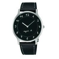 agnès b.到agnes b VJ20-K240Z(BJ5005X1)法式簡約時尚腕錶/黑面39mm