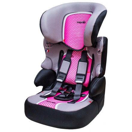 『121婦嬰用品館』納尼亞 成長型安全汽座 - 基本款 - 粉色 FB00318 0