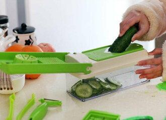 【露營趣】中和 Nicer Dicer Plus 多功能切菜器 好神切 切丁器 刨丁器 削皮刀 蔬果處理器 tnr-048