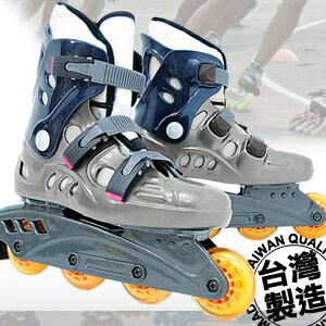 台灣製造 高彈跳直排輪(溜冰鞋旱冰鞋滑冰鞋.滑鞋滑輪鞋風火輪競速鞋.兒童成人成年可調直排.極限戶外休閒運動.專賣店推薦哪裡買)P005-18