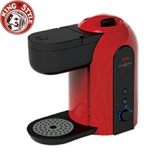 金時代書香咖啡【UCC】ECO-POD Pelica 咖啡膠囊機 / 紅