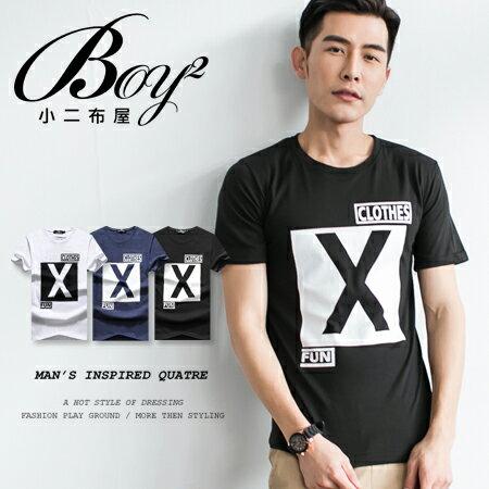 ☆BOY-2☆ 【OE30089】美式潮流X印花短袖T恤 0