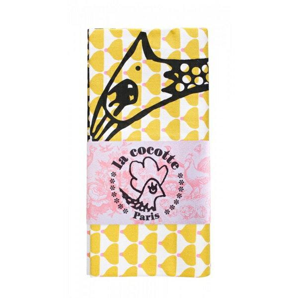 《法國 La Cocotte Paris》Ochre Chic Chick Paulette Tea Towel 茶巾 1