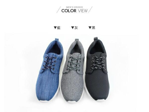 ☆BOY-2☆【NKP-RP35】慢跑鞋 韓版素面渲染休閒運動鞋 1