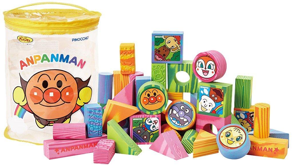麵包超人 Anpanman 麵包超人 趣味泡棉安全積木組 ~  好康折扣