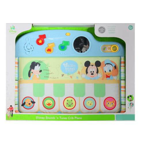 迪士尼嬰兒~床邊踢踢腳小鋼琴/  迪士尼/Disney Sound'n Tunes Crib Piano