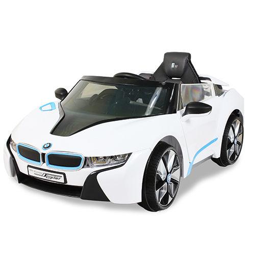 BMW I8電動車高端版(白)/BMW/雙驅動/好孩子/Goodbaby/電動車/騎乘/授權商品/12V電池/伯寶行
