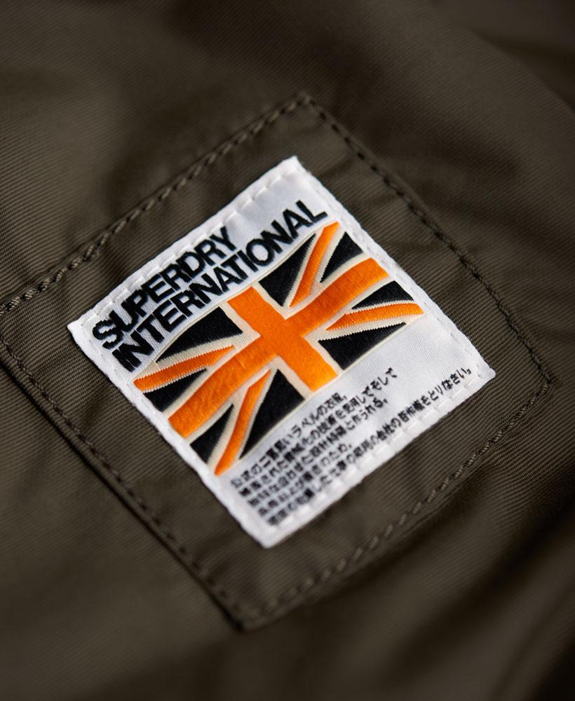 [男款]英國名品代購 極度乾燥 Superdry RSD Lite Pilot MA-1男士防水防風飛行外套夾克風衣 深卡其 3