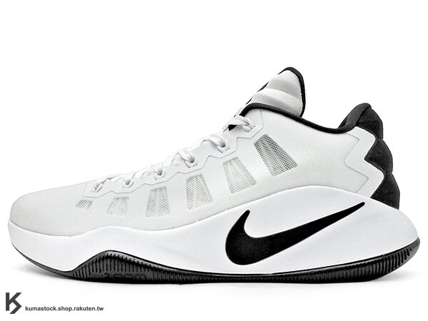 2016 ZOOM AIR 氣墊搭載 強勢回歸 NIKE HYPERDUNK 2016 LOW EP 白黑 FLYWIRE 鞋面科技 XDR 耐磨橡膠外底 輕量化 籃球鞋 HD 2K16 (844364-100) 0816