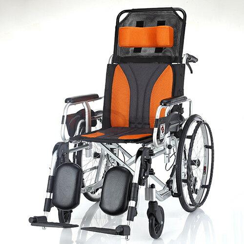 均佳 機械式輪椅 躺式輪椅 JW-020 贈好禮三選一