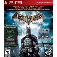 蝙蝠俠與超人周邊商品推薦PS3 Batman蝙蝠俠:阿卡漢療養院小丑大逃亡 年度紀念完整特別版-英文美版-