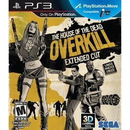 PS3 死亡鬼屋:過度殺戮 加長導演版(支援Move與3D) The house of the Dead:OVERKILL -英文版-