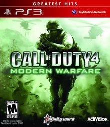 PS3 COD4 決勝時刻:現代戰爭 Call of Duty:Modern Warfare -英文紅盒白金美版-