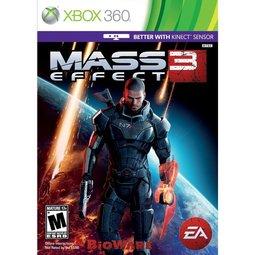 XBOX 360 質量效應3 Mass Effect 3 (兩片裝支援Kinect) -英文美版