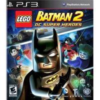 蝙蝠俠與超人周邊商品推薦PS3 樂高蝙蝠俠 2:DC 超級英雄 Lego Batman 2:DC Super Heroes -英文美版-