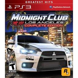 PS3 Midnight 4 灣岸4:洛杉磯 完整版 -英文美版-