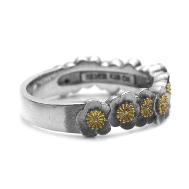 【海外訂購】【GLENN】梅花環純銀戒指(GL-0081) 3