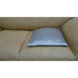 【地球能量椅墊100%銀纖維布 37*37CM】買到賺到! 導電抗菌防臭全銀纖布 —適用~辦公椅 餐椅 沙發 和室--接地辦公最輕鬆!! - 限時優惠好康折扣