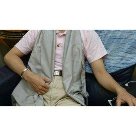 【地球能量布半銀纖長版萬用巾】揭地寶(接地寶貝) 可用於SPA指壓按摩時的鋪巾、冷氣房圍巾、局部不適處... 接地養生最放鬆自然! 0