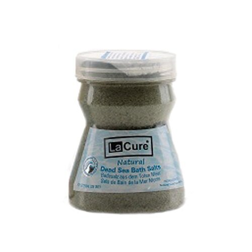 La Cure~藍琪兒~Dead Sea 礦物沐浴鹽^(綠色^) 250g 精緻瓶裝 ~
