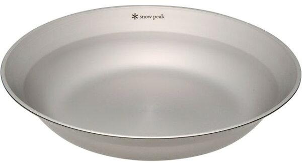 Snow Peak 不鏽鋼餐盤/野餐/露營餐具/戶外餐盤 18-8 304 SP不鏽鋼湯碟 TW-032