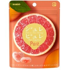 有樂町進口食品 甘樂Pure葡萄柚軟糖63g 4901351059333 0
