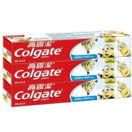 『121婦嬰用品館』高露潔 小小兵防蛀含氟兒童牙膏(凝露)40gx3入(香香水果口味) 0