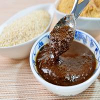 ~蘭山麵~乾拌麵醬包~4款綜合口味^(紅蔥油、麻油、沙茶、麻醬各10包裝^)^!^! ~