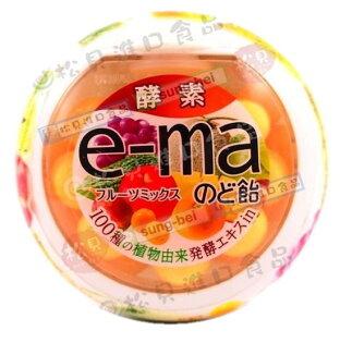 味覺e-ma綜合水果喉糖罐33g【4514062254562】
