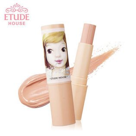 韓國 ETUDE HOUSE 好親香 完美唇色修飾膏(唇部遮瑕膏) 3.5g  蜜桃唇色修護棒【B061117】