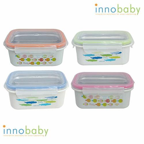 美國 innobaby stainless lunchbox 不鏽鋼保鮮便當盒【藍色】