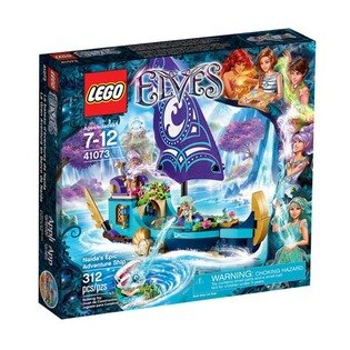 【LEGO 樂高積木】Elves 精靈系列 - 娜達的史詩歷險船 LT 41073