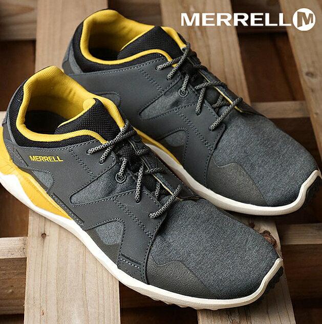 MERRELL 1SIX8 LACE 168系列 都會休閒款 避震氣墊 舒適耐走 灰 男款 0