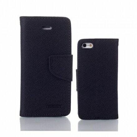 Mercury 二代 iPhone 6/6s 6+/6s+ 馬卡龍雙色手機皮套 紫粉黑多色可選 5