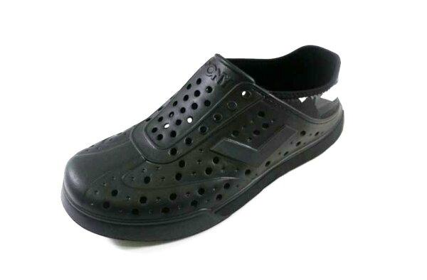 [陽光樂活]PONY-ENJOY系列-2Way休閒兩穿洞洞鞋- 62U1SA69BK 全黑(中性)