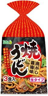 [高森興產]日式炒烏龍麵3入-焦香醬油味 603g