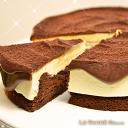 【連假野餐必備】❤每天限量50顆的手工甜點❤【蘇格蕾】6吋- 香濃起司生巧克力蛋糕,全國首創 / 樂天獨享,一次吃到3種口感的極致享受!!♚女神級部落客大讚×上班這檔事激推×榮登樂天第一名♚ 0
