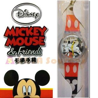 【禾宜精品】**正版** 迪士尼 思考米奇 手錶 兒童錶 休閒錶 卡通錶 生活百貨 (MK001)