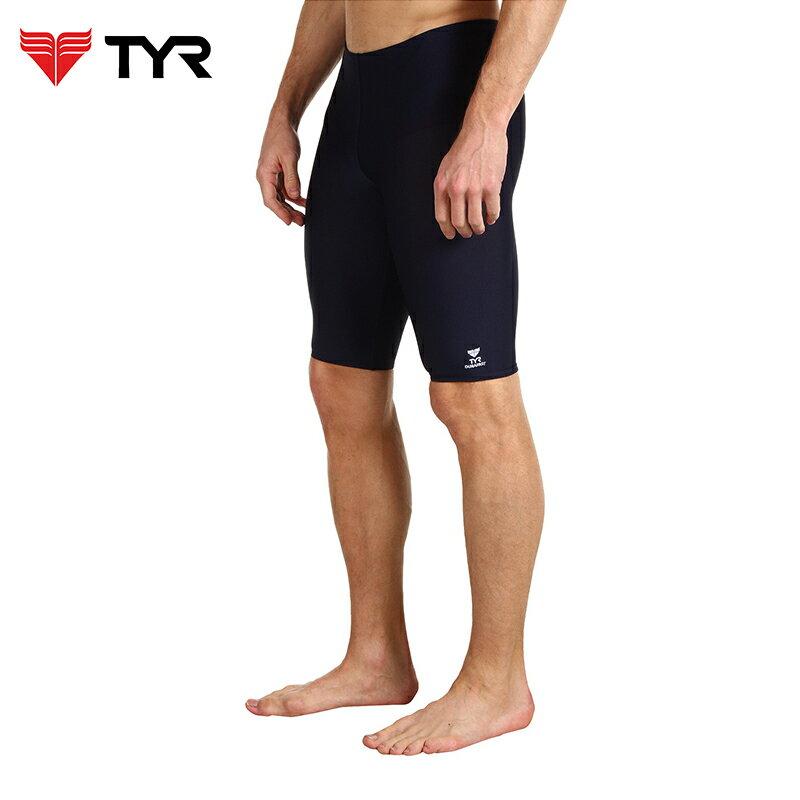 美國TYR男用馬褲黑色訓練款泳褲Solid Jammer 台灣總代理 - 限時優惠好康折扣