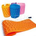 USB果凍色矽膠軟鍵盤 (1入) 摺疊鍵盤 防水鍵盤 收納鍵盤 筆電鍵盤 防塵鍵盤 電腦鍵盤 可捲收納