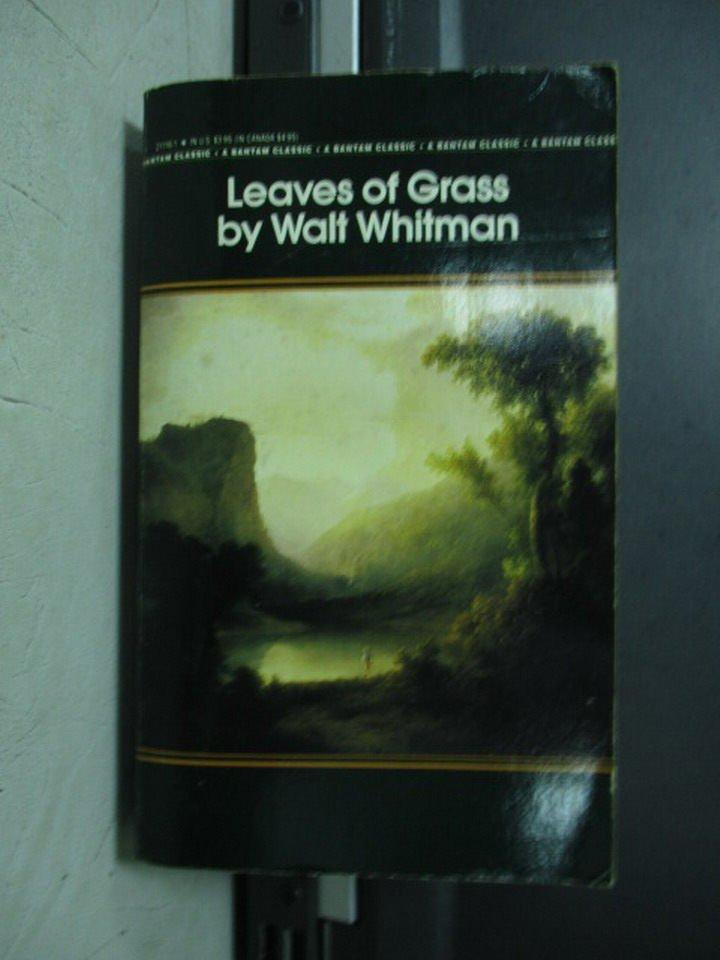 ~書寶 書T7/原文小說_LPA~Leaves of grass_Walf whitman